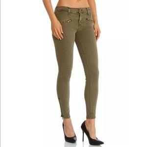 CURRENT/ELLIOTT Soho Zip Stiletto Skinny Pants